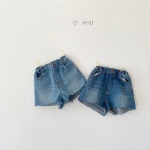 Billy denim shorts<br>2 color<br>『O'ahu』<br>21SS