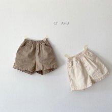 Arthur linen shorts<br>2 color<br>『O'ahu』<br>21SS