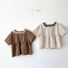 Hepburn blouse<br>2 color<br>『O'ahu』<br>21SS