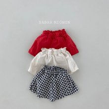 flared skirt pants<br>3 color<br>『babar mignon』<br>21SS【STOCK】