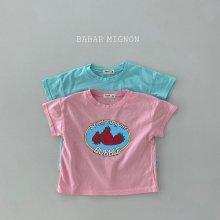 Strawberry T<br>2 color<br>『babar mignon』<br>21SS