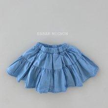lovely jean skirt pt<br>『babar mignon』<br>21SS