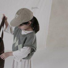 2 style vest<br>Khaki<br>『guno・』<br>21FW