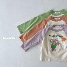 POP raglan sleeve<br>3 color<br>『lala land』<br>21FW