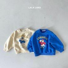 L.A Sweatshirt<br>2 color<br>『lala land』<br>21FW
