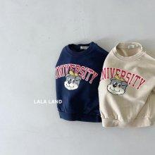 Uni Sweatshirt <br>2 color<br>『lala land』<br>21FW
