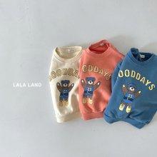 Good day sweatshirt<br>3 color<br>『lala land』<br>21FW
