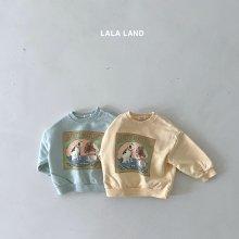 Square sweatshirt<br>2 color<br>『lala land』<br>21FW