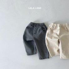 Round cut pants<br>2 color<br>『lala land』<br>21FW