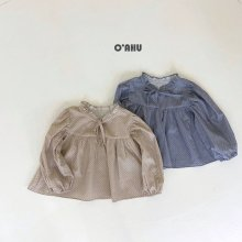 Delight Blouse<br>2 color <br>『O'ahu』<br>21FW