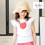Apple Wing りんご Tシャツ <br>(White/Pink)定価<s>2,900円</s><br><b>30%Off</b><img class='new_mark_img2' src='https://img.shop-pro.jp/img/new/icons20.gif' style='border:none;display:inline;margin:0px;padding:0px;width:auto;' />