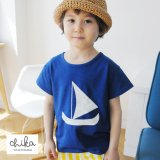 Sailling Ship Tシャツ(Blue)<br><s>定価2,600円</s><br><b>30%Off</b><img class='new_mark_img2' src='https://img.shop-pro.jp/img/new/icons20.gif' style='border:none;display:inline;margin:0px;padding:0px;width:auto;' />