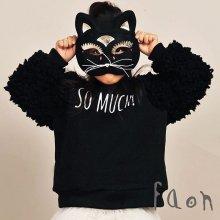 So Much トレーナー<br>Black<br><br>FaOn 2015AW<br>定価<s>4,800円</s><b>20%Off</b>