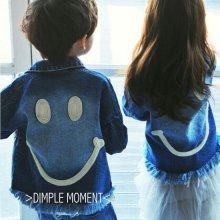 スマイルデニムジャケット/Smile Denim Jacket<br>『Dimplemoment』 <br>16SS<br>定価<s>6,900円</s><b>20%Off</b>
