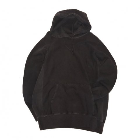 MAIDEN NOIR / Natural Dyed Hoodie Fleece - charcoal