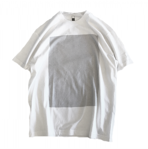 brrwd / HALF-TONE-RECTANGLE T-shirts
