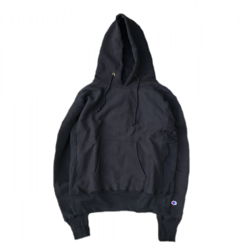 Champion / Reverse Weave Pullover Sweat Parker - black