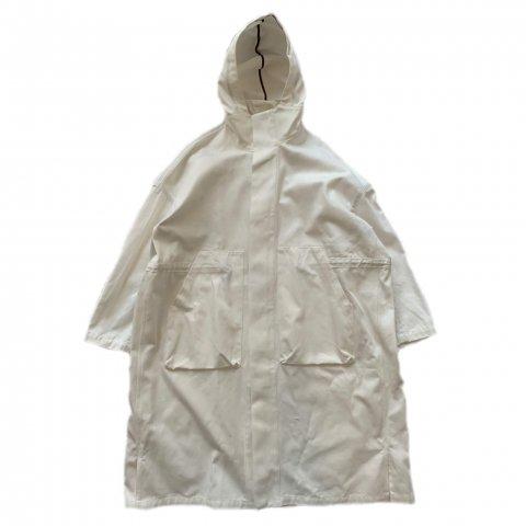 SLIP INSIDE / Hoodie Coat - white