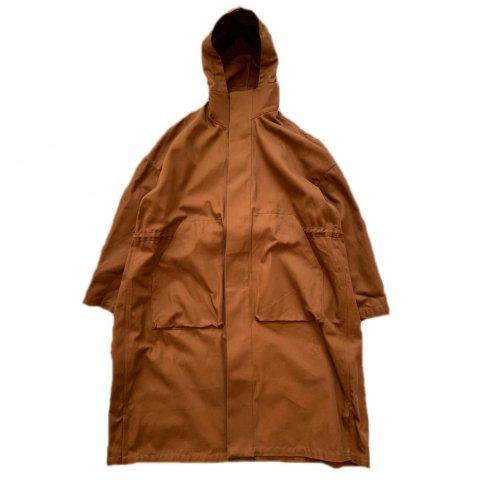 SLIP INSIDE / Hoodie Coat - brown