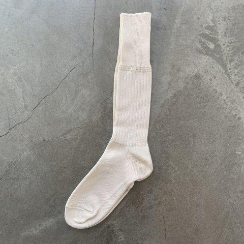 OLDE HOMESTEADER / HEAVY WEIGHT SOCKS - PLAIN RIB - ecru
