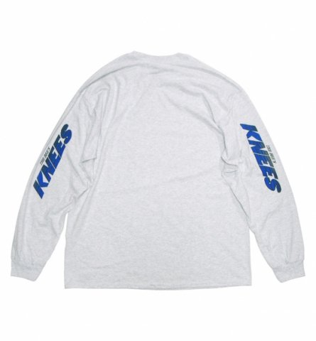 SPUT performance / KNEES L/S T-shirt - ash