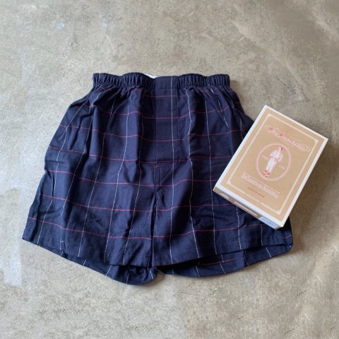 OLDE HOMESTEADER / BOXER TRADITIONAL COTTON FLANNEL - navy