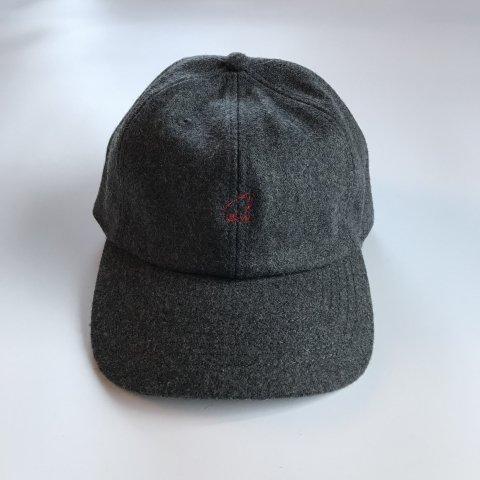 shirokuma / shirokuma Logo Wool Cap - charcoal