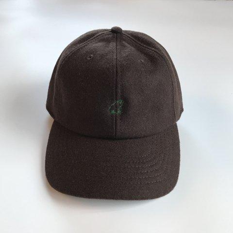 shirokuma / shirokuma Logo Wool Cap - brown
