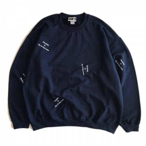 SPUT performance / Sleeping in the living room Sweat - navy