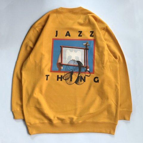 marksedit / JAZZ THING Sweatshirt - gold