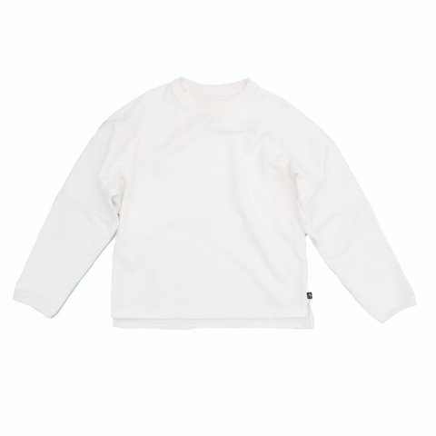 KEYHOLE / PCU CUTTING SHIRT - white