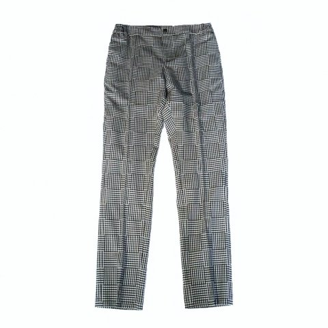 SOULLAND /  Kreuzberg Suit Pants - black/white checked