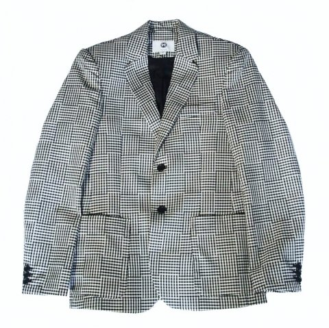 SOULLAND /  Kreuzberg Suit Blazer - black/white checked
