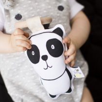 <img class='new_mark_img1' src='https://img.shop-pro.jp/img/new/icons14.gif' style='border:none;display:inline;margin:0px;padding:0px;width:auto;' />babee&me  Organic Teething Toy-Panda オーガニックティージングトイ(歯固め)