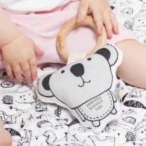 <img class='new_mark_img1' src='https://img.shop-pro.jp/img/new/icons14.gif' style='border:none;display:inline;margin:0px;padding:0px;width:auto;' />babee&me  Organic Teething Toy-Koala オーガニックティージングトイ(歯固め)