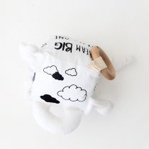 <img class='new_mark_img1' src='https://img.shop-pro.jp/img/new/icons14.gif' style='border:none;display:inline;margin:0px;padding:0px;width:auto;' />babee&me  Organic Soft Play Block --LITTLE DREAMER Monochrome オーガニックソフトプレイブロック