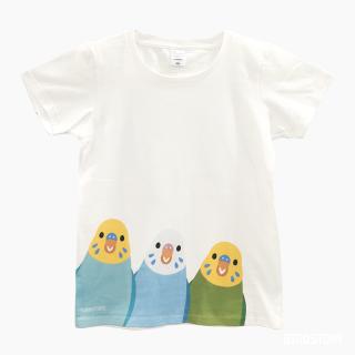 Tシャツ(SMILE BIRD  / セキセイインコ)