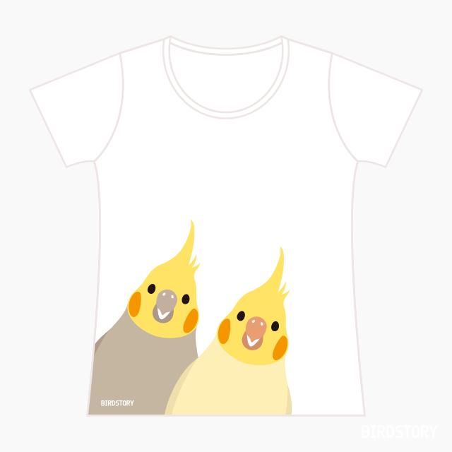 Tシャツ(SMILE BIRD  / オカメインコ) 商品の様子