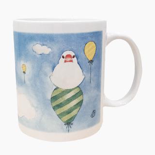文鳥さんのマグカップ