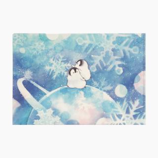 もこぺんA5クリアファイル (銀河雪)