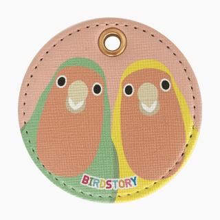 SMILE BIRD キーホルダー(コザクラインコ)