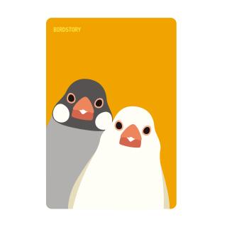 パスケース(SMILE BIRD / 文鳥)