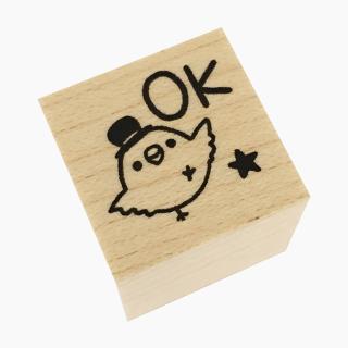 chitch スタンプ(文鳥 / OK)