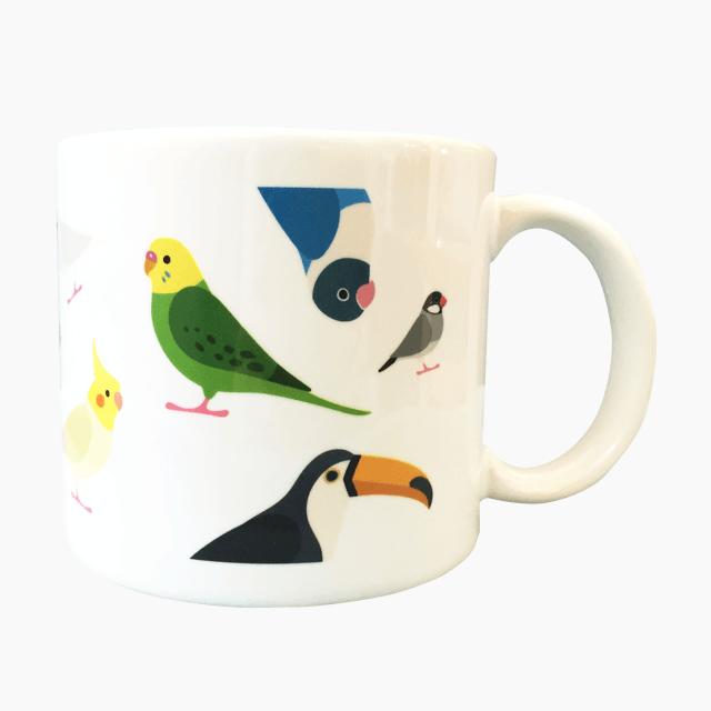 BIRD!BIRD!BIRD!(BIG) マグカップ