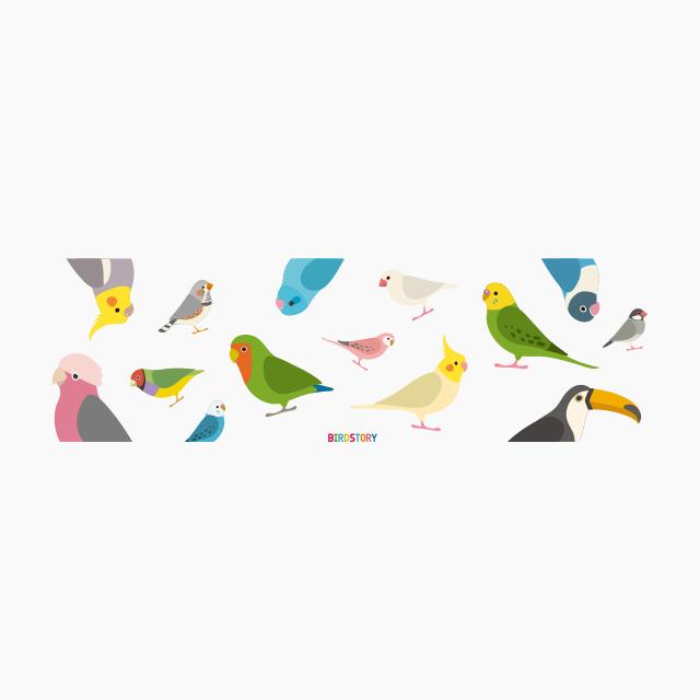 BIRD!BIRD!BIRD!(BIG) マグカップ 商品の様子