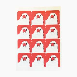 オクムラミチヨ 文鳥 レターセット