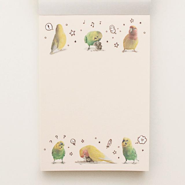 MOGMOG BIRD COMIC メモ帳 商品の様子