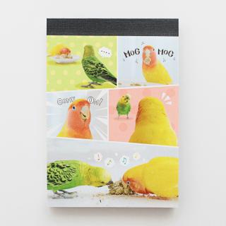 MOGMOG BIRD COMIC メモ帳
