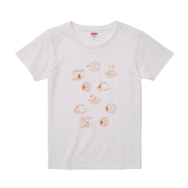 Tシャツ(巣 / ホワイト / メンズ)