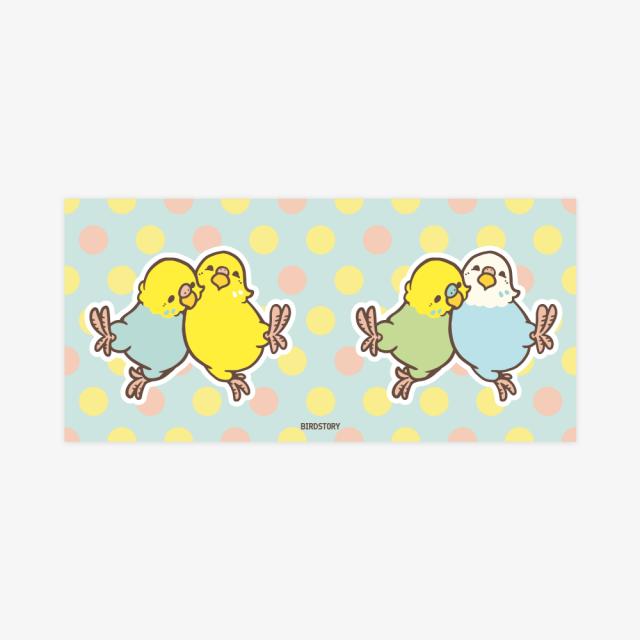 マグカップ(HAPPY BIRD LIFE / セキセイインコ) 商品の様子